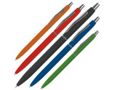 Rubber coated ball pen