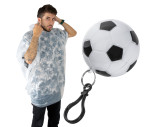 Rain poncho in football case